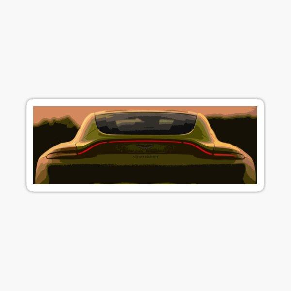 Aston Martin Vantage Glossy Sticker