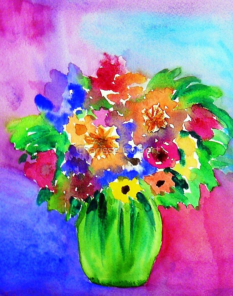 Bright Bouquet by Charisse Colbert
