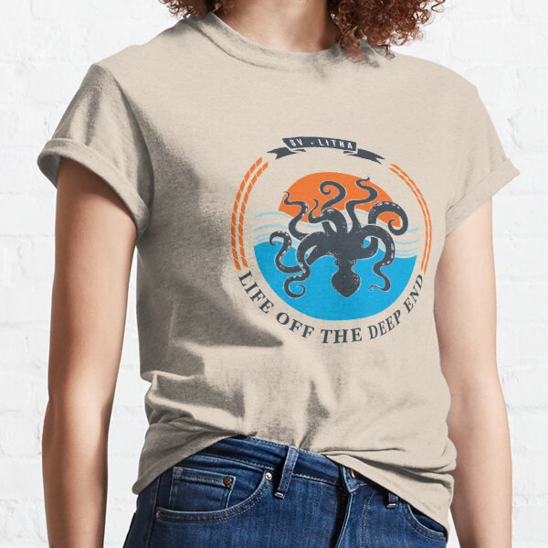 Life off the deep end Classic T-Shirt