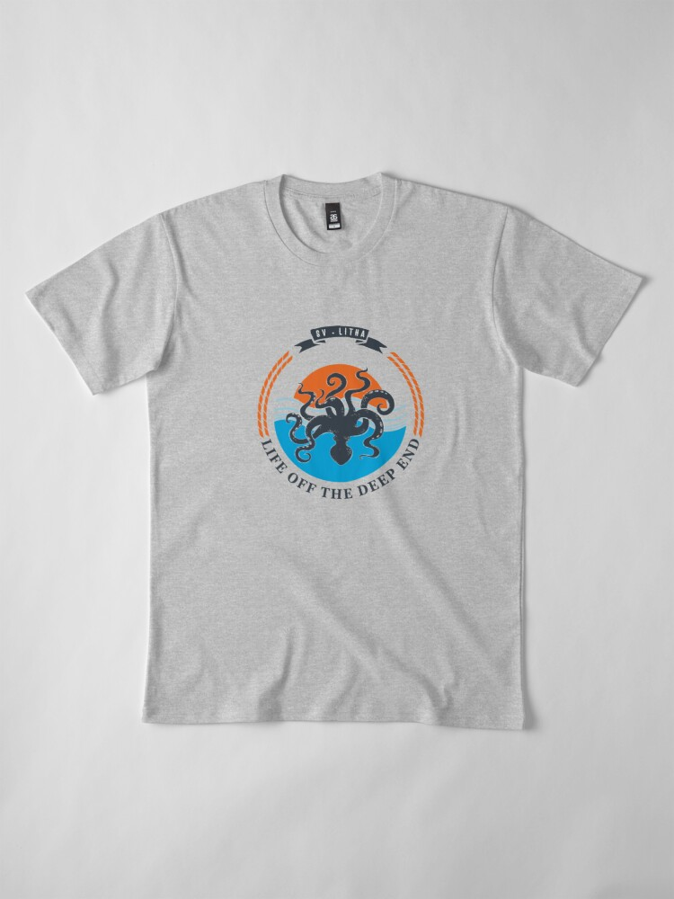 Alternate view of Life off the deep end Premium T-Shirt