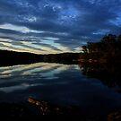 Lake Corunna, sunset. by Angela Rafter