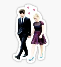 Ben and Leslie Sticker