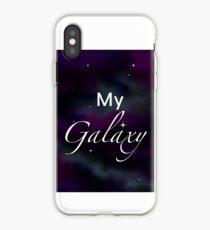 Vinilo o funda para iPhone Galaxia