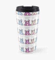 STPC: Three Chibis (Sitting)  Travel Mug