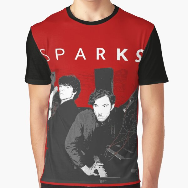 SPARKS (WHITE TEXT) Graphic T-Shirt