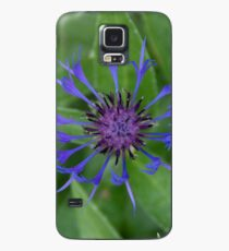 Thin blue flames in a sea of green Case/Skin for Samsung Galaxy