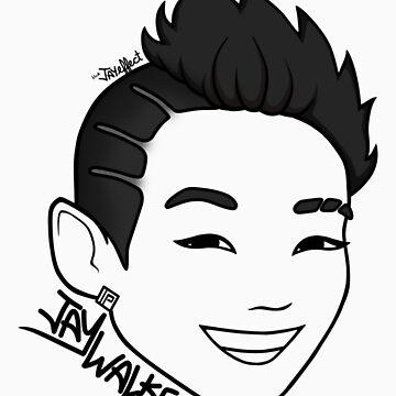 JayWalker (Original - Black) by funkmunky