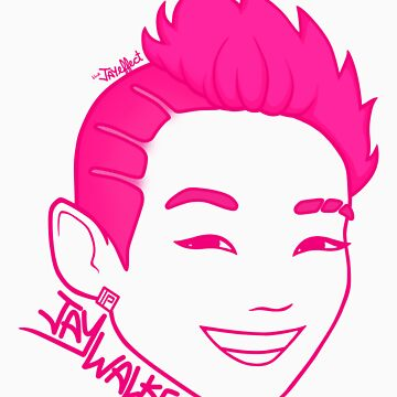 JayWalker (Hot Pink) by funkmunky