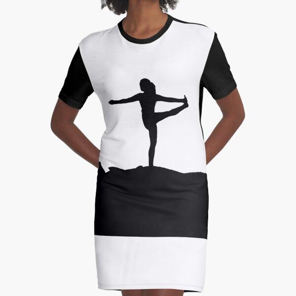 yoga women Graphic T-Shirt Dress