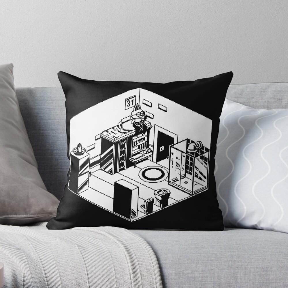 1bit home Throw Pillow