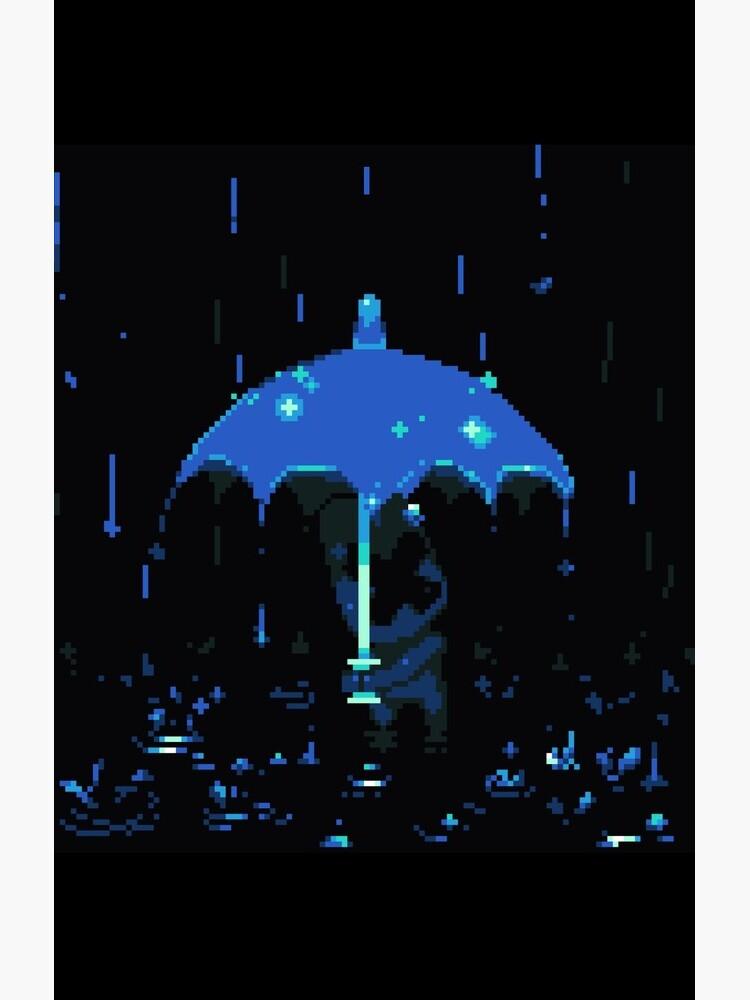 Bernard in the Rain by Emmytwofive