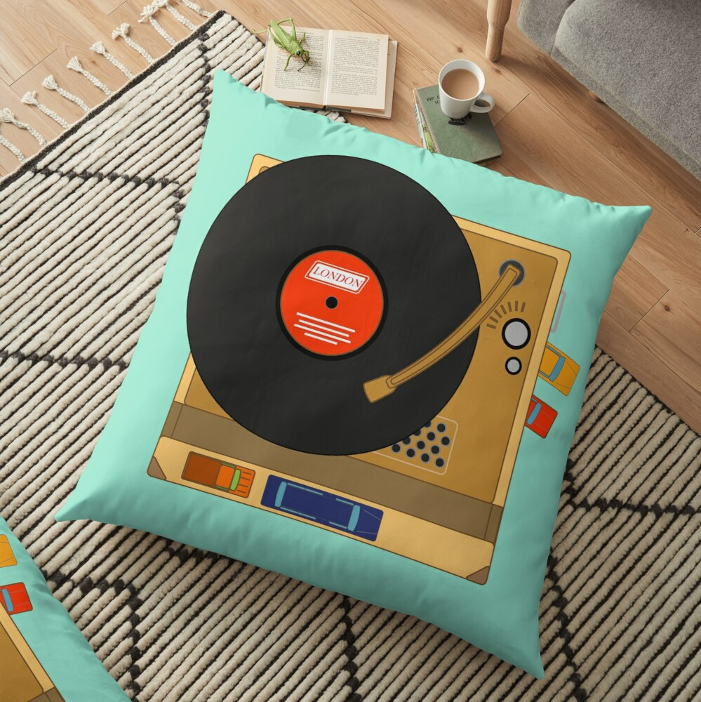Wes Anderson's The Royal Tenembaums Floor Pillow
