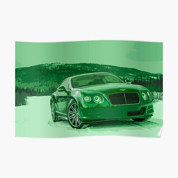 Bentley Continental GT Poster