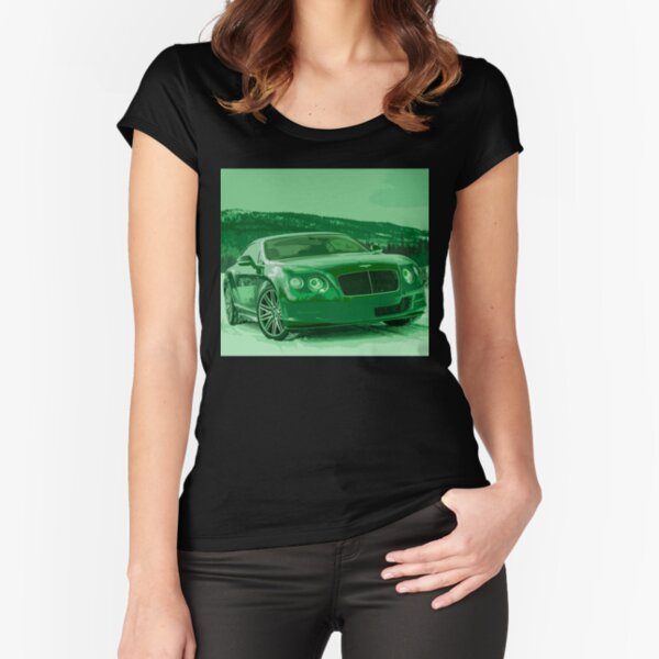 Bentley Continental GT Fitted Scoop T-Shirt