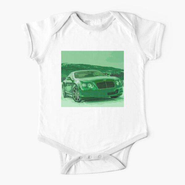 Bentley Continental GT Short Sleeve Baby One-Piece