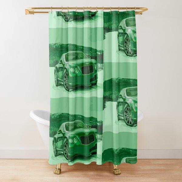Bentley Continental GT Shower Curtain