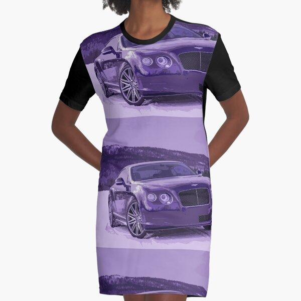Bentley Continental GT Graphic T-Shirt Dress