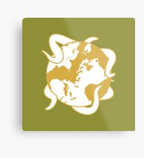 The Princess And The Orrery icon Metal Print