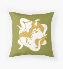 The Princess And The Orrery icon Throw Pillow