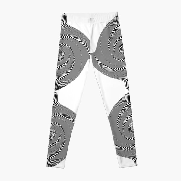 Black and white #illusion #clipart #BlackAndWhite #illusionClipart Leggings