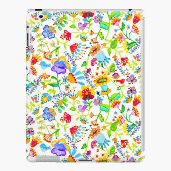 Folk art flowers iPad Snap Case