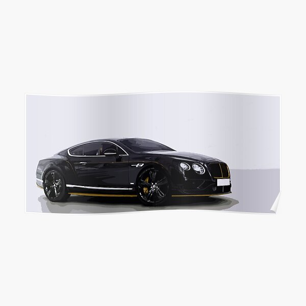 Bentley Continental GT Speed Poster