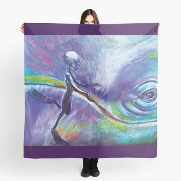 Consulting with the Whale Nations Scarf