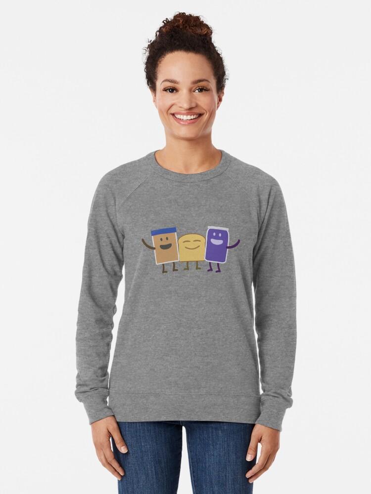 Alternate view of Best Friends Lightweight Sweatshirt