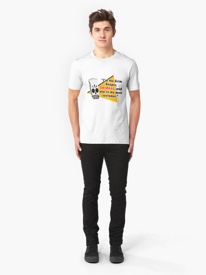 Alternate view of Grim Fandango - Manny Calavera Slim Fit T-Shirt