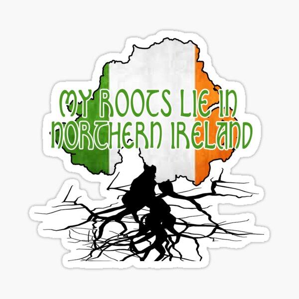 northern ireland roots Sticker