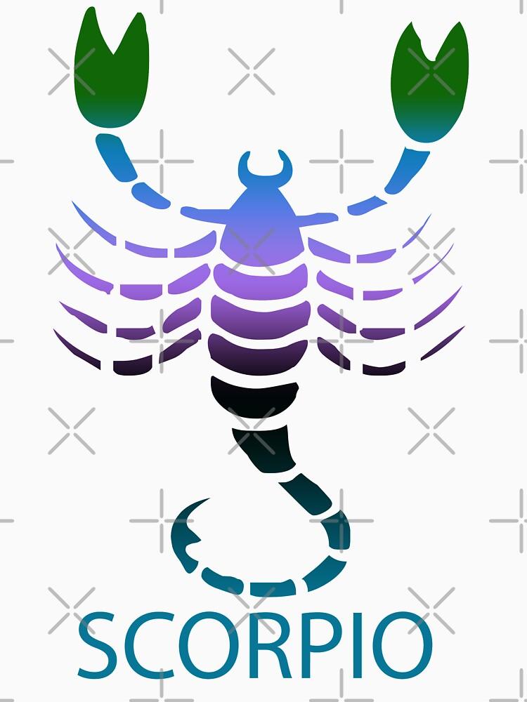 Colorful Zodiac sign - Scorpio by Smaragdas