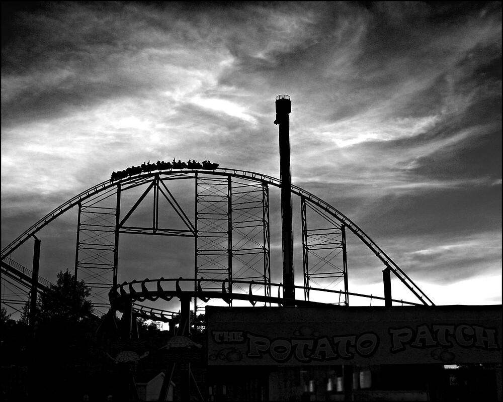 Kennywood Sunset by Ernest Strawser