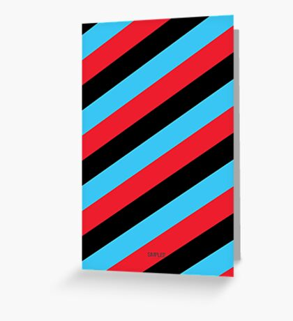 Simplee Cards: Stripes 5 of 9  Greeting Card