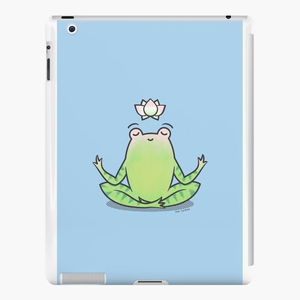 Zen Yoga Frog  iPad Cases & Skins