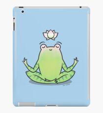 Zen Yoga Frog  iPad Case/Skin