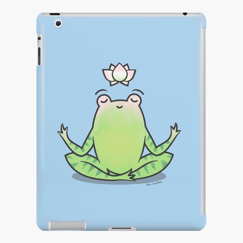 Zen Yoga Frog  iPad Case & Skin
