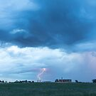 Lightning and Gas Fracking by Bo Insogna