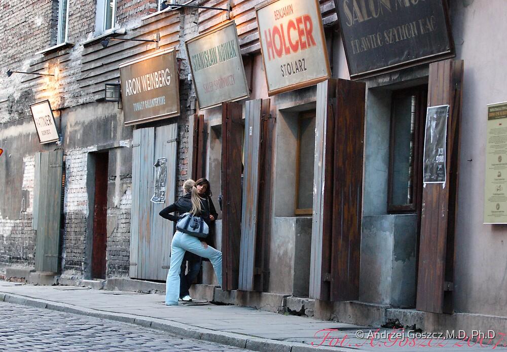 Kazimierz  the best preserved Jewish district in Europe. Brown Sugar Story. Views (186) favorited by (2) Shalom ! thank you ! Toda raba zeh hachever sheli ! by © Andrzej Goszcz,M.D. Ph.D
