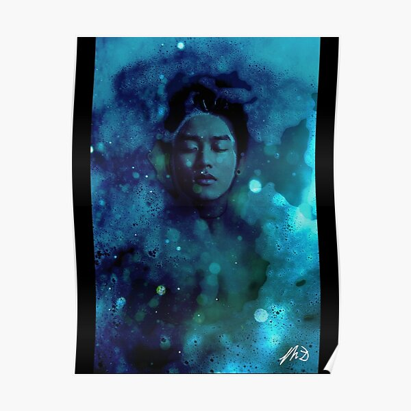 Drowning in a Bubble Bath of Dreams Poster