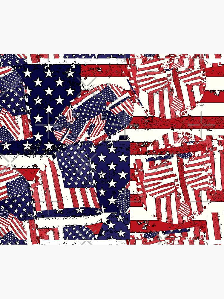 Stars and Stripes pattern by bywhacky