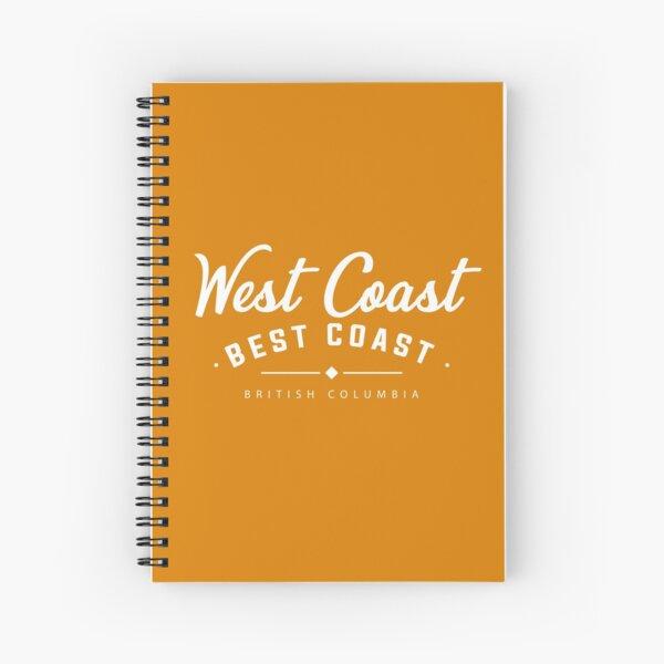 West Coast, Best Coast Spiral Notebook