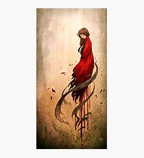 Girl in Red Photographic Print
