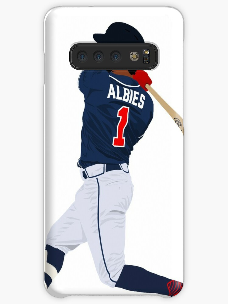 Ozzie Albies Home Jersey Atlanta Braves Poster FREE US SHIPPING