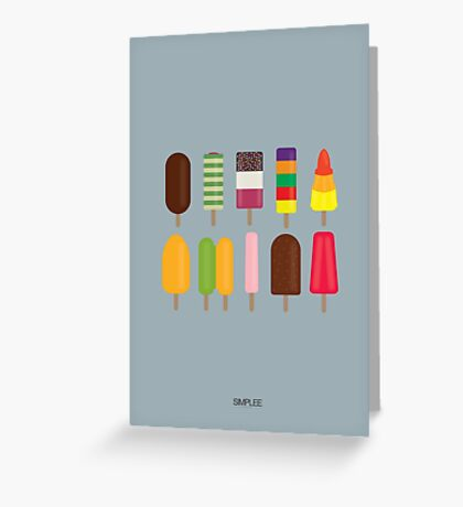 Simplee Cards: Ice Lollies Greeting Card