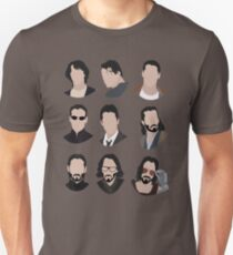 The Evolution of Keanu Reeves  Slim Fit T-Shirt