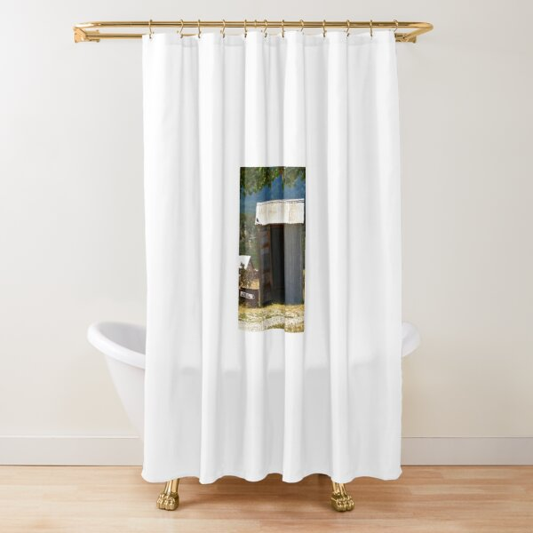 New Mexico Public Restroom Shower Curtain