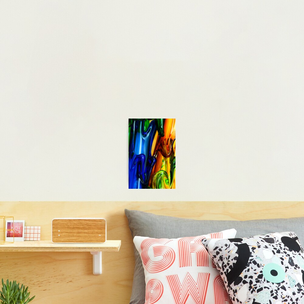 Art Glass abstract Photographic Print