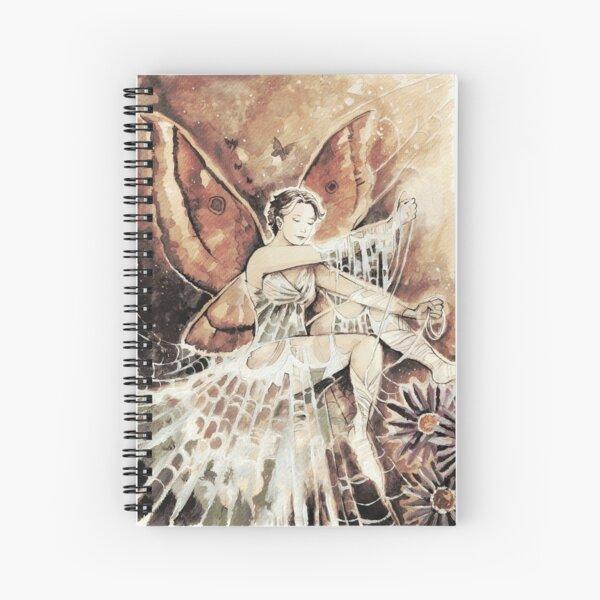 Cobweb Faerie Spiral Notebook