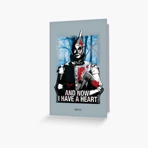 Simplee Cards: Tin Man Greeting Card
