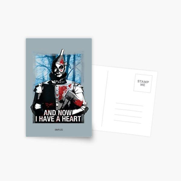 Simplee The Best: Tin Man - Card Postcard
